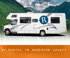 RV Rental in Anderson County